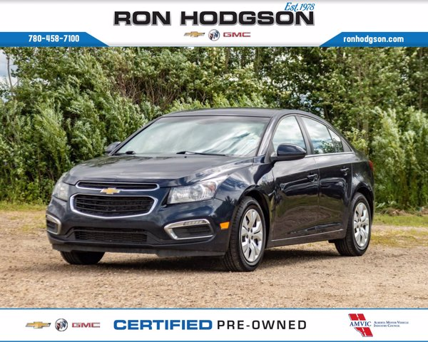 Certified Pre-Owned 2015 Chevrolet Cruze 1LT RMT START BLUETOOTH COOL BLUE