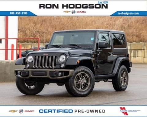 2017 Jeep Wrangler 75th Anniversary RMT START HTD SEATS NAVI 2DR LOW KM