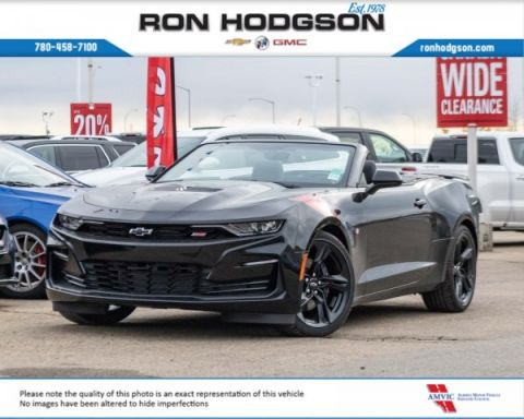 New 2020 Chevrolet Camaro 2SS RWD Convertible