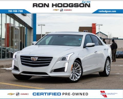 2015 Cadillac CTS Luxury AWD/NAVI/ROOF/PEARLW/NEWTIRES