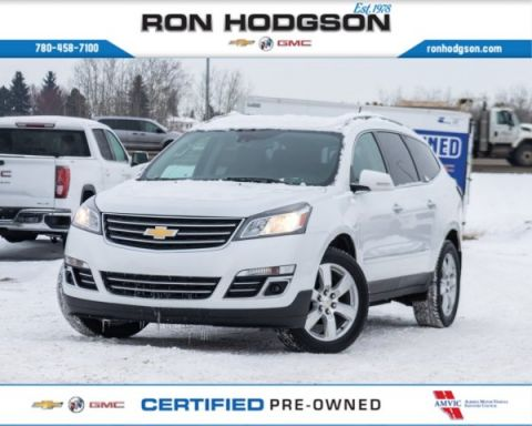 Certified Pre-Owned 2017 Chevrolet Traverse Premier 7PASS CLD SEATS BOSE NAVI AWD Sport Utility