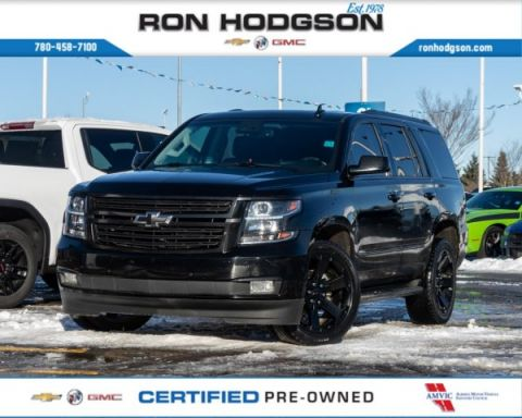 2018 Chevrolet Tahoe Premier Loaded Blacked out One Owner Fresh Trade