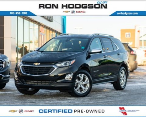 2020 Chevrolet Equinox Premier HTD LEATHER TURBO RMT START AWD LOW KM!!