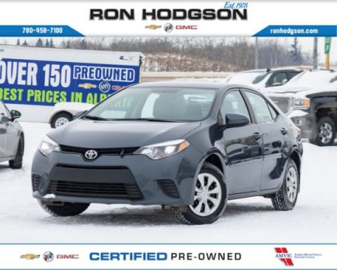 Pre-Owned 2016 Toyota Corolla LE ECO CLEAN LOCAL AUTO BLUETOOTH FWD 4dr Car