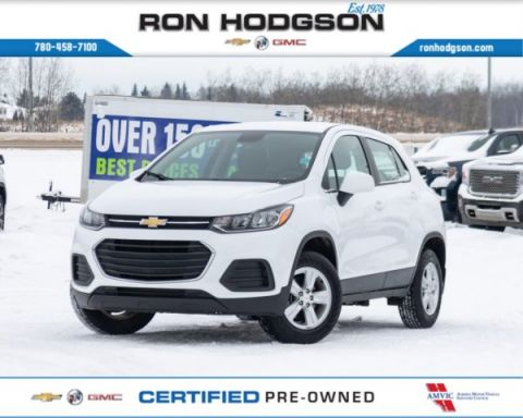 Certified Pre-Owned 2018 Chevrolet Trax LS AWD RMT START REAR CAM AWD Sport Utility