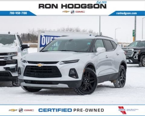 Certified Pre-Owned 2019 Chevrolet Blazer AWD RMT START HTDS SEATS LOW KM GLOSS BLACK WHEELS AWD Sport Utility
