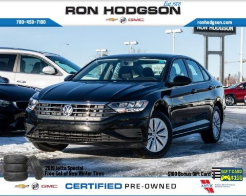 Pre-Owned 2019 Volkswagen Jetta Comfortline *FREE WINTER TIRES* htd seats bluetooth $59WKLY FWD 4dr Car